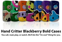 Blackberry Cases / Add some fun to your phone! Protect and personalize your Blackberry with a stylish and colorful case featuring your favorite animal or fantasy creature. See the whole collection at www.handcritters.com / by Hand Critters