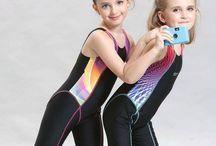 Little Girls Swimwear / Childrens Swimsuits, Girls Bathing Suits, Beachwear