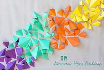 Geometric Party / Geometric Party inspiration, ideas and products.