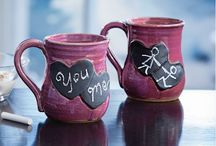 "Your Valentine's Day Gift Guide! / Get ready to celebrate your loved ones with handmade treasures made uno alla volta, or ""one at a time"". From mugs, jewelry, to wine glasses, find something special for someone special."