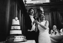 The Wedding Cake / Photos of wedding cakes, of people cutting their wedding cakes, and sometimes of people eating their wedding cakes.