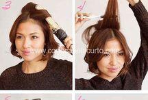 cabelo curto elegante