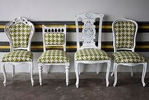 mismatched chairs / by Katherine Brou