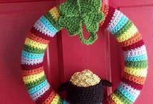 Crochet | St Patrick's Day / St Patricks Day crochet patterns St. Patrick Day crochet pattern