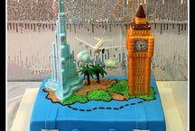 Dubai themed cakes