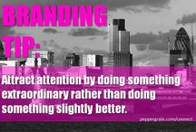 Branding Tip (by Peppergrain) / Peppergrain shares quick branding tips for you to apply to your business or brand.