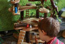 Jeu : DIY maison de poupées arbre