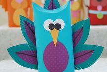 Craft!~Toilet Paper, Paper Towel Rolls / the place for diy inspiration to create art and crafts from the lowly toilet paper and paper towel roll! / by Peggy Jackson