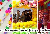 Como decorar una fiesta infantil