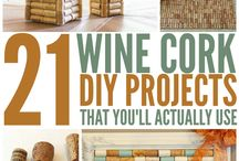 Wine Cork Projects!