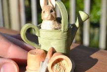 Peter Rabbit In The Watering Can