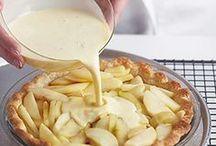 French Apple Custard Pie