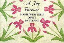 MARIE WEBSTER QUILTS