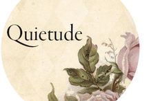 Quietude / My word for the year 2015 is Quietude qui·e·tude ˈkwīəˌt(y)o͞od/ noun a state of stillness, calmness, and quiet in a person or place.