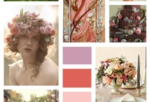 Wedding inspirations, mix of; art deco, classic and modern in happy pinks....
