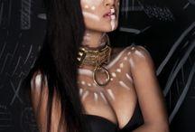 Make up Indianer