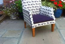 Upholstered Pieces in our Fabrics / A collection of images by our customers of our fabrics being used for upholstery.