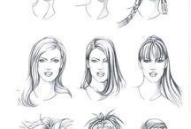 Çizim-Saç