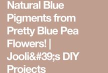 DIY natural colour pigments