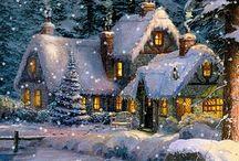 obrázky- zima