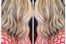 hair color / by Kathy Pfarr Dunklee
