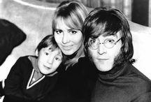 John.. Cynthia and their son Julian.. 1968 ♥‍‍