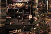 Rustic/prim Christmas