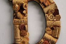 Wine and cork crafts