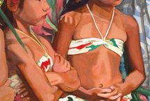 Island Art / South Pacific artwork and photography