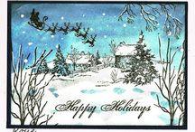 Christmas cards / kartki Boże Narodzenie