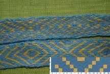 Brikkevev tablet weaving annen vev og knuter