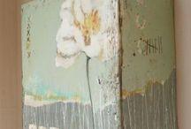 akryl målning