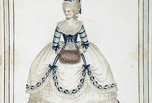 18th century (late) gown inspiration