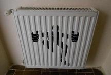 Opvallende radiatoren / Radiatoren met een grappig design, opvallend design...