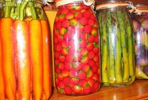Homesteading, canning, preserving