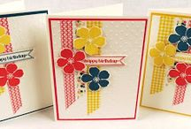 Washi Tape / Projects using Stampin' Up! Washi Tape. All products Stampin' Up!.