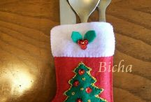 guante navideño