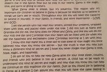 Letter about santa