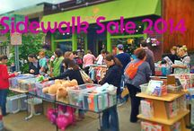 Sidewalk Sale 2014 / by Peapods Natural Toys & Baby Care