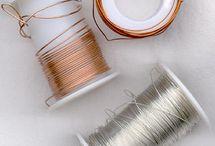 Wire. crochet