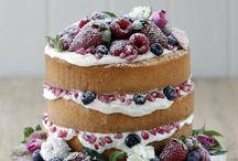 Naked cake / Pasteles