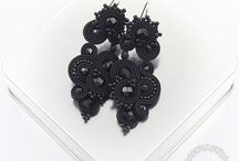 Evening jewelry soutache / www.kavrila.otwarte24.pl