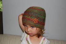 Czapki i łapki. / Handmade hats, mittens, scarves.