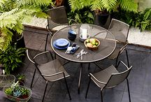 Garden table and chairs sets / Our favourite garden table and chairs set for summer 2017.