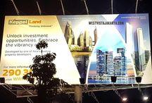 Foto Area West Vista Jakarta / Gambar foto / photo area sekitar proyek apartemen West Vista Jakarta Barat Keppel Land.