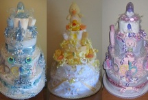 Diaper Cakes & Baby Shower Stuff / Projects and inspiration for baby showers.