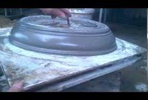 Misky - pískové jádro
