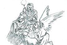Sketches - Bocetos