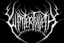 Black metal Logos inspiration