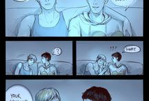 Merthur  / merlin & arthur are so cute together :(